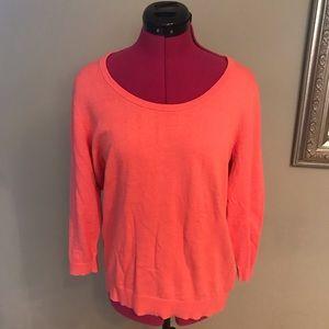 Liz Claiborne Coral Sweater